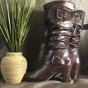 Madden Girl Slouchy knee Boots
